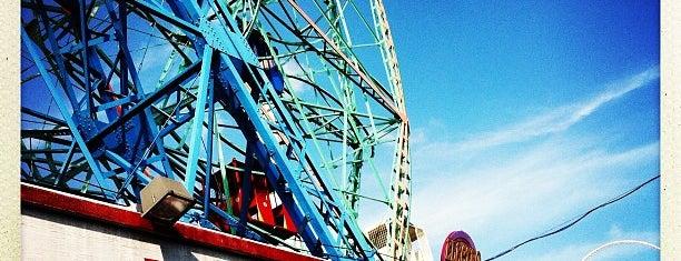 Deno's Wonder Wheel is one of Hello Brooklyn.