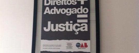 Ordem dos Advogados do Brasil - Seção Minas Gerais (OAB/MG) is one of Tempat yang Disukai Warley.