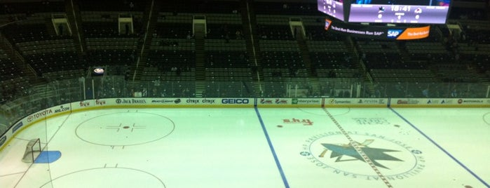 SAP Center at San Jose is one of NHL Arenas 2013.