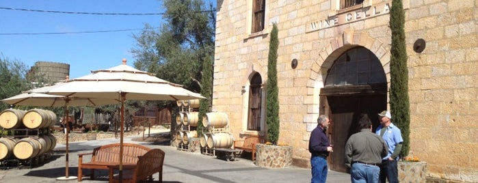 Regusci Winery is one of Napa.