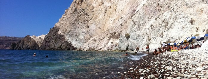 White Beach is one of 5 days in Santorini.