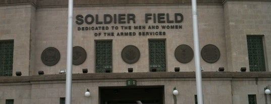 Soldier Field is one of 101 places to see in Chicago before you die.