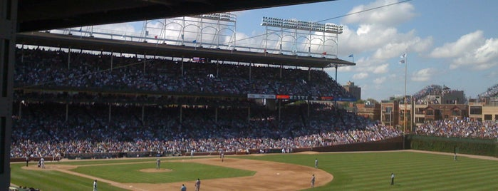 Wrigley Field is one of MLB Stadium Quest.