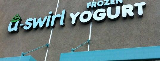 U-Swirl Frozen Yogurt is one of Locais curtidos por Angie.