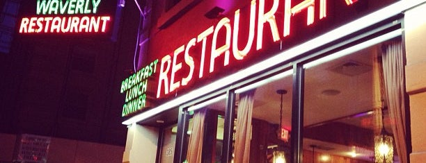 Waverly Restaurant is one of West Village.