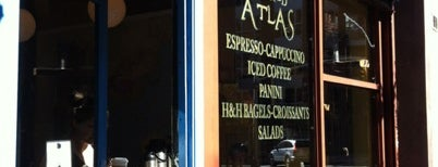 Triple Shot World Atlas Cafe is one of cold brew fix - NY airbnb.