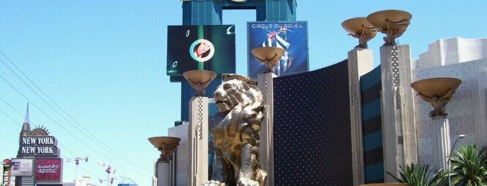 MGM Grand Lion Statue is one of USA.