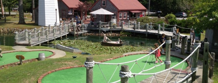 Pirate's Cove Mini Golf is one of Bar Harbor.