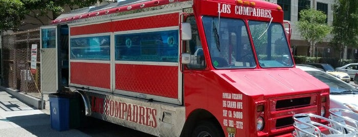 Los Compadres Taco Truck is one of San Fran.