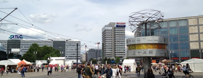 Alexanderplatz is one of StorefrontSticker #4sqCities: Berlin.