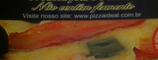Pizzaria Ideal is one of Locais curtidos por Cledson #timbetalab SDV.