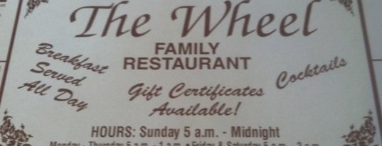 The Wheel Restaurant is one of NWI.