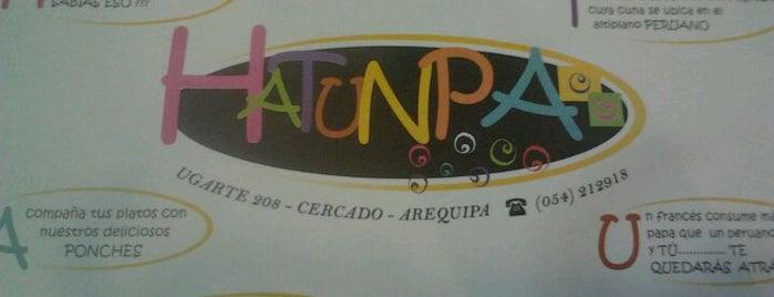 Hatunpa is one of Locais curtidos por Antônio.