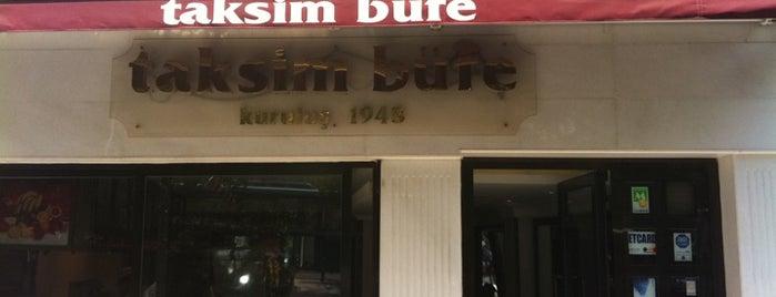 Taksim Büfe is one of Locais curtidos por Samet.