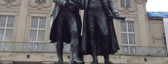 Goethe-Schiller-Denkmal is one of Steve's Liked Places.
