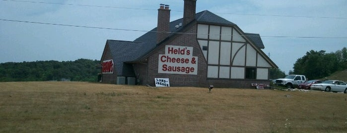 Held's Meat Market is one of Central.