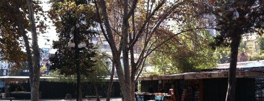 Plaza Carlos Pezoa Veliz is one of Lugares, plazas y barrios de Santiago de Chile.