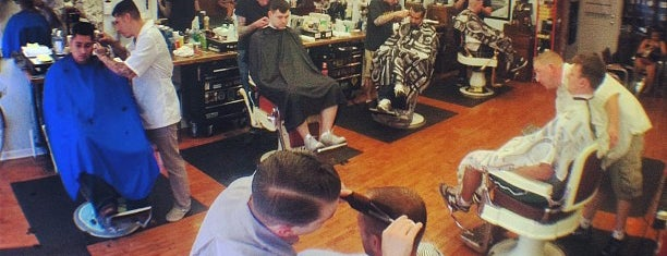 Belmont Barbershop is one of chicago POI's.