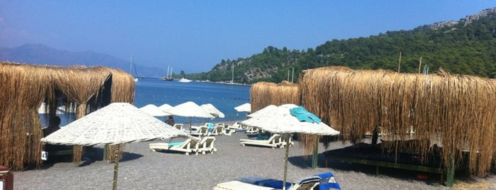 Maris Beach is one of Marmaris.