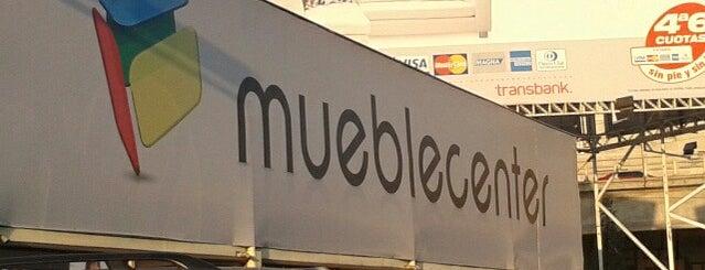 Mueble Center is one of Centros Comerciales de Santiago.