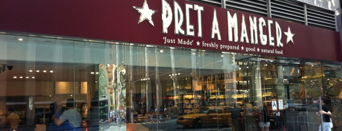 Pret A Manger is one of Regular Spots.