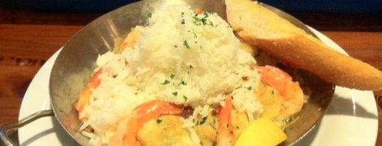 Bubba Gump Shrimp Co. is one of Minha experiência gastronômica.