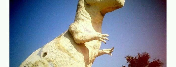Cabazon Dinosaurs is one of Twerksgiving.