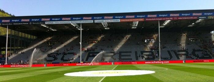 Schwarzwald-Stadion is one of Von mir besuchte Fußballstadien.