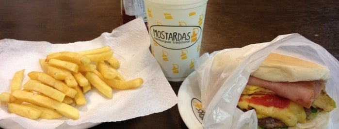 Mostardas Hamburgueria e Café is one of Rômulo 님이 저장한 장소.