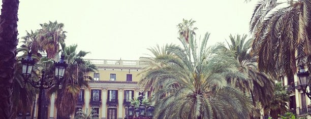 Plaza Real is one of Barcelona.
