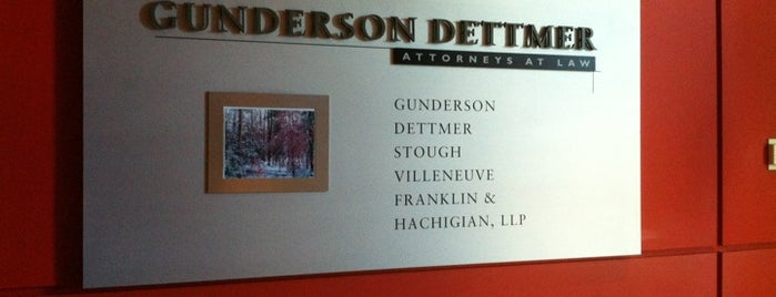 Gunderson Dettmer is one of NYC Work Spaces & Tech Startups.