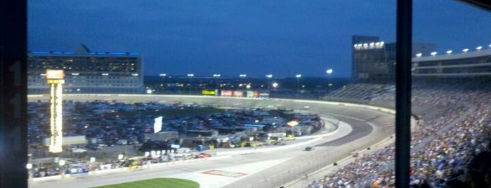 Texas Motor Speedway is one of Lieux qui ont plu à Wade.