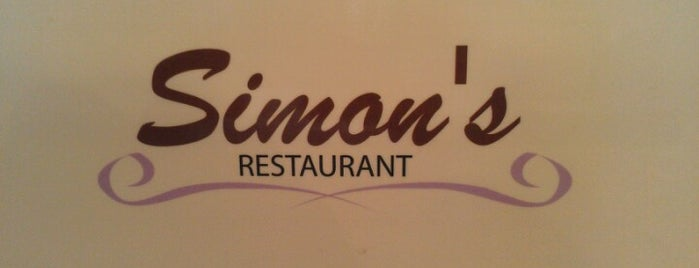 Simon's Restaurant is one of Elmhurst.