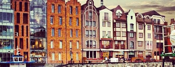 Hotel Hanza Gdansk is one of Krzysztof : понравившиеся места.