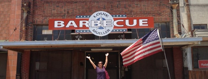 Louie Mueller Barbecue is one of Austin Places to Try.