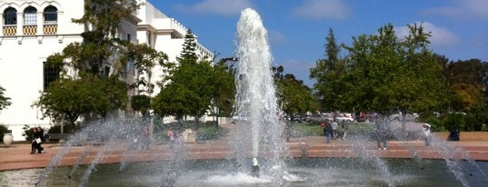 Balboa Park Fountain is one of Favorite Haunts Insane Diego.