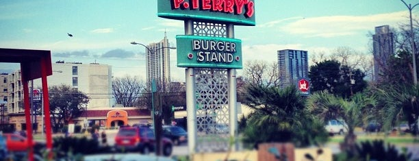 P. Terry's Burger Stand is one of Allisonさんの保存済みスポット.