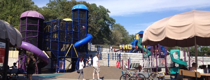 Hyland Play Area (Chutes and Ladders) is one of Fun with Kids in Twin Cities.