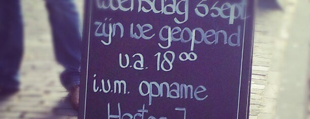 Tapperij de Zwijger is one of Misset Horeca Café Top 100 2013.