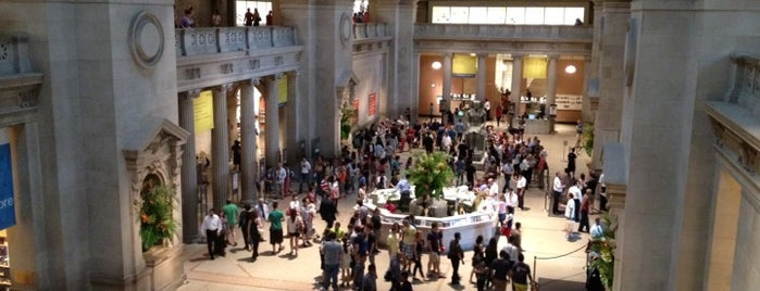 The Metropolitan Museum of Art is one of NY.