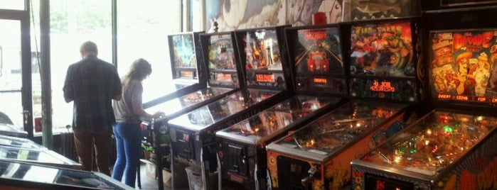 Reciprocal Skateboards is one of Pinball Destinations.