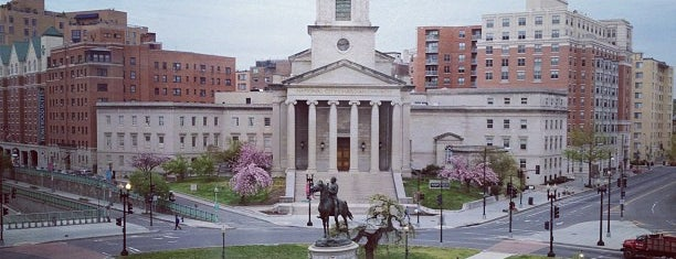 Thomas Circle is one of DC.