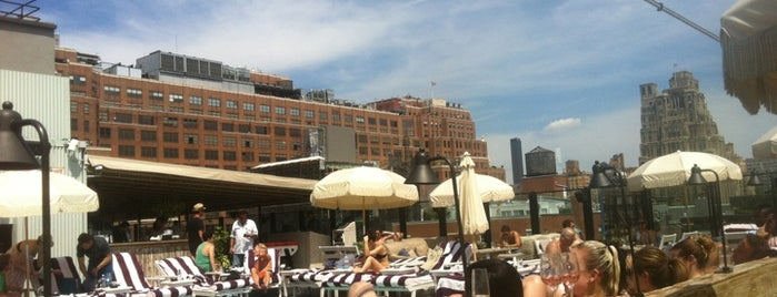 Soho House Rooftop is one of Eat/drink outside & downtown(ish).