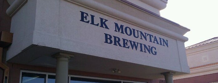 Elk Mountain Brewing is one of Booze and beer.