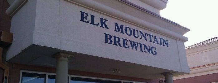 Elk Mountain Brewing is one of สถานที่ที่ Stacia ถูกใจ.