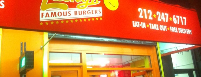 Lucky's Famous Burgers is one of Lugares favoritos de Erik.