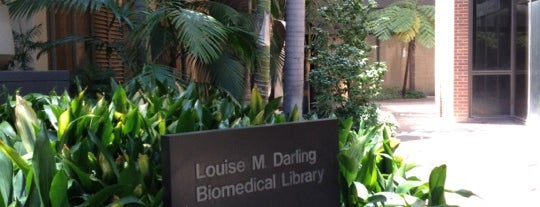 UCLA Biomedical Library (Louise M. Darling) is one of สถานที่ที่ Natia ถูกใจ.
