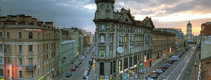 Пять углов is one of Saint-Petersburg, Russia.Authentic city features.