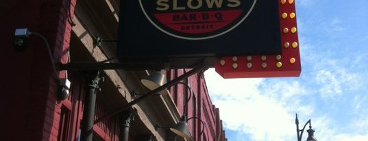Slows Bar-B-Q is one of The Dirty D.