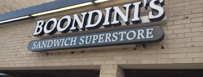 Boondini's Sandwich Superstore is one of Raleigh.